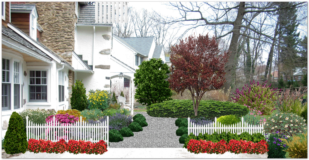 Aardweg landscaping before and after photographic imaging capturing the transformation - Garden design before and after ...