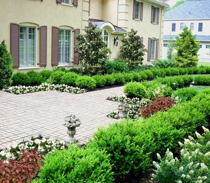 Formal Garden Design Idea: Landscaping Design Portfolio By Main Line And Philadelphia
