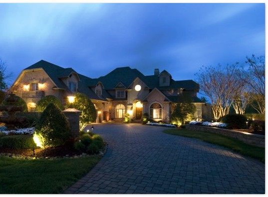 Main Line Philadelphia Landscape Lighting Design