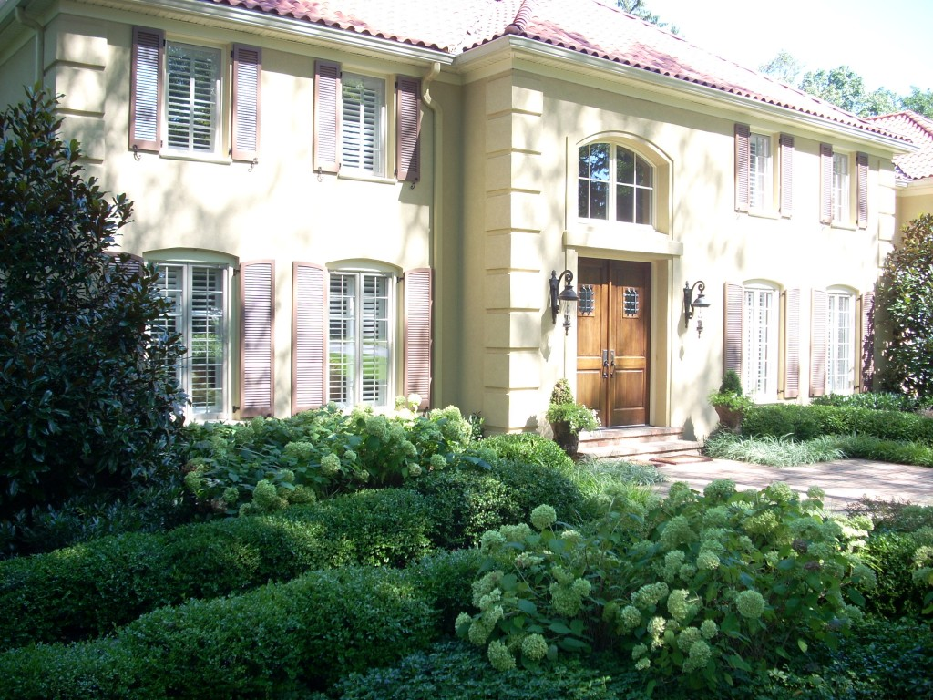 Classic landscape design for formal philadelphia gardens for Formal landscape design