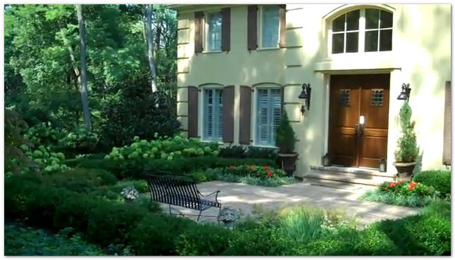 Best landscape design tips for a formal courtyard - Classic courtyards and gardens elegant landscapes ...