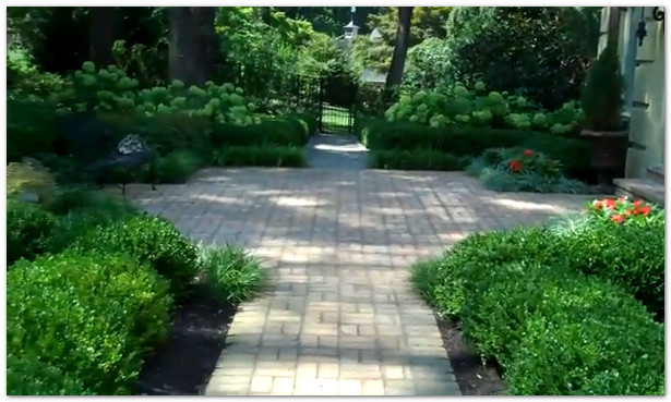 Aardweg Landscaping Main Line Formal Garden