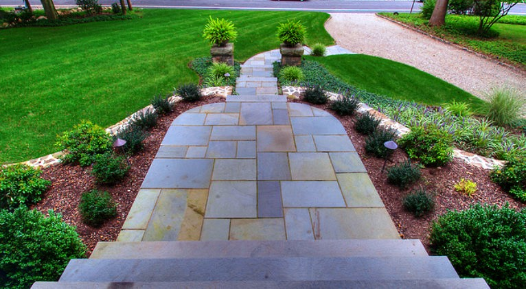 Front Yard Landscaping Ideas for Philadelphia Main Line Homes  766 x 421