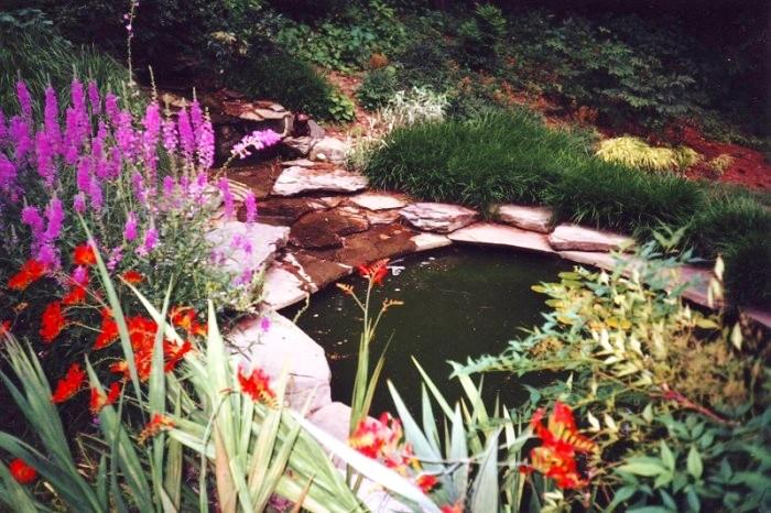 A Water Feature by Aardweg Landscaping -- A Main Line Philadelphia Firm