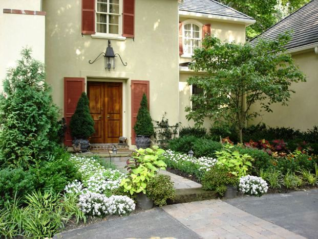 Affordable hardscaping and landscaping ideas for front for Elegant landscaping