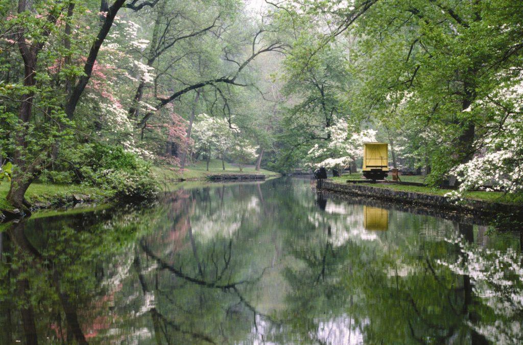 Hagley mill race on the Brandywine Creek