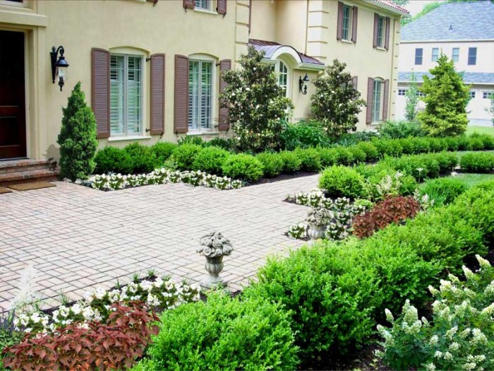 Formal garden in Pennsylvania