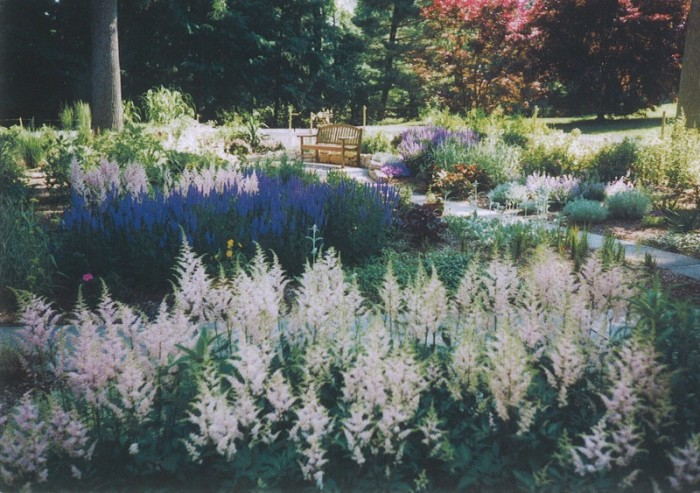 English garden in PA